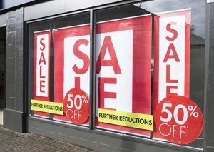 Retail Signs and Promotional Signage